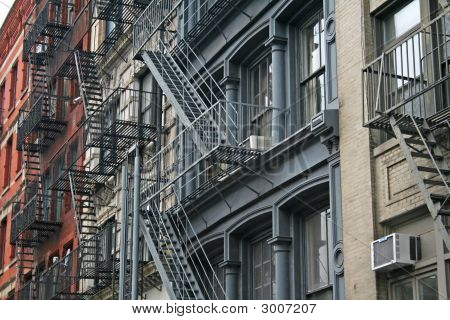 New York City Fire Escape Apartments