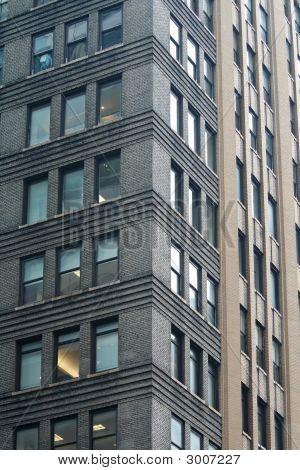 Corner New York Building Pattern