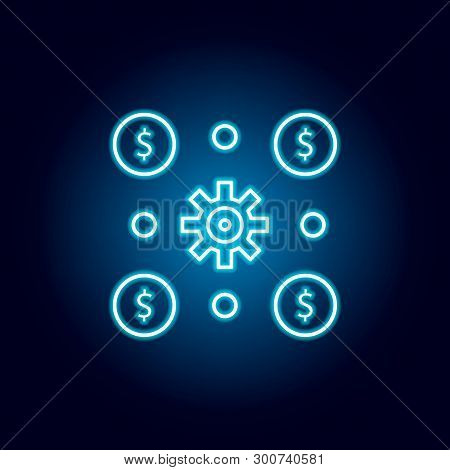 Invest, Income Icon. Element Of Money Diversification Illustration. Signs And Symbols Icon For Websi