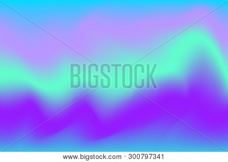Blurred Purple And Blue Water Color Soft Wave Colorful Effect For Background Abstract, Illustration