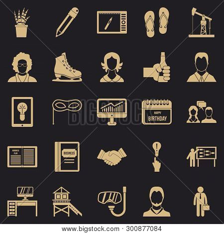 Joint Biz Icons Set. Simple Set Of 25 Joint Biz Vector Icons For Web For Any Design