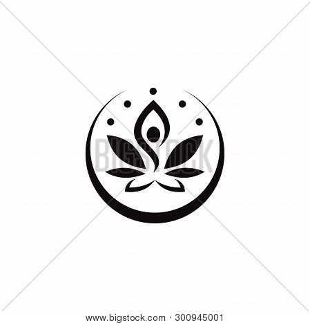 Yoga Vector Icon On White Background. Yoga Icon In Modern Design Style. Yoga Vector Icon Popular And