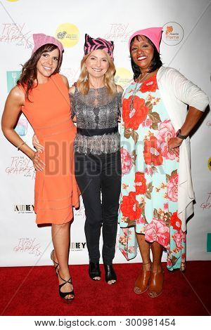 LOS ANGELES - May 11: Tasha Dixon, Lisa Bloom, Virginia Watson at