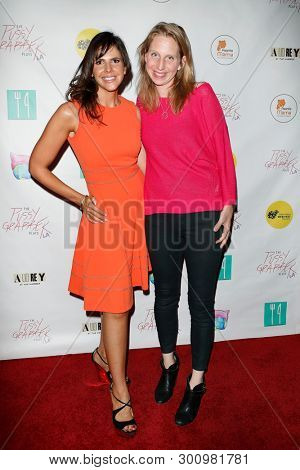 LOS ANGELES - May 11: Tasha Dixon, Julia Brownell at