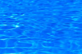Surface Of Blue Swimming Pool,background Of Water In Swimming Pool