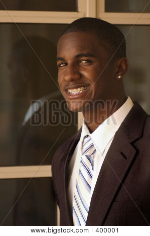 Business Professional With Earrings