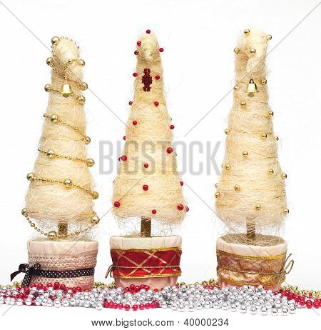 Christmas Trees Made Of Sisal