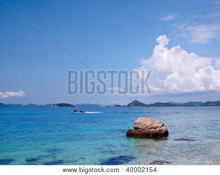 Emerald Color Sea In Ko Kham Island
