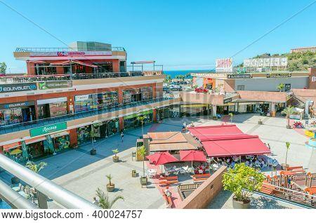 Villa De La Orotava, Tenerife, Canary Islands - June 06, 2018: Commercial Center La Villa Is One Of