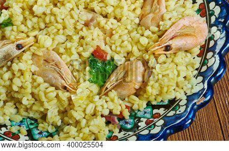 Italian Bulgur Di Pesce
