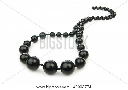 Nice necklase isolated on the white