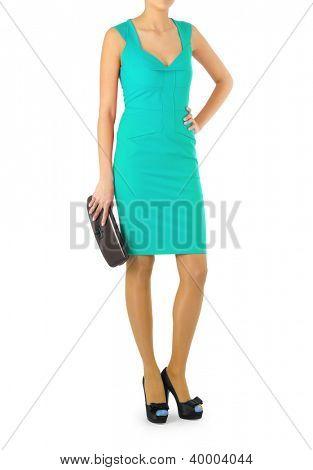 Attractive model in fashion concept