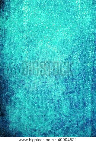 Abstract Textured Background: Dark Patterns On Blue Backdrop