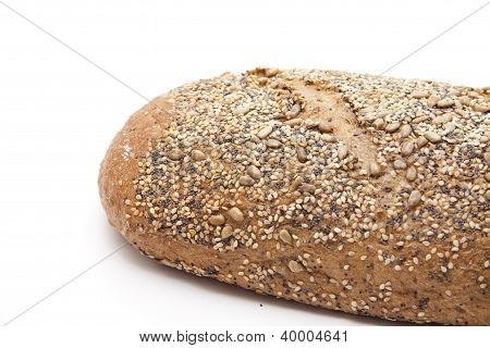 Baked bread for eating