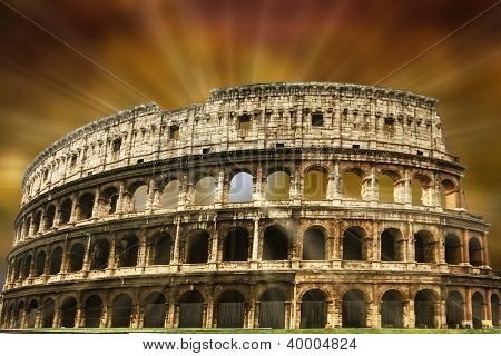 The Colosseum in Imperial Rome