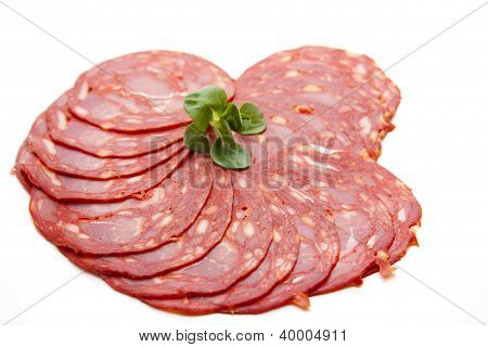 Salami Cuts for Bread