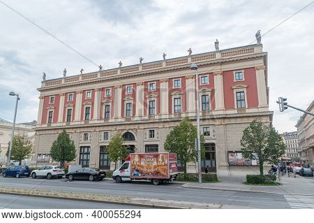 Vienna, Austria - August 30, 2020: Vienna Philharmonic Founded In 1842, Is An Orchestra Considered T