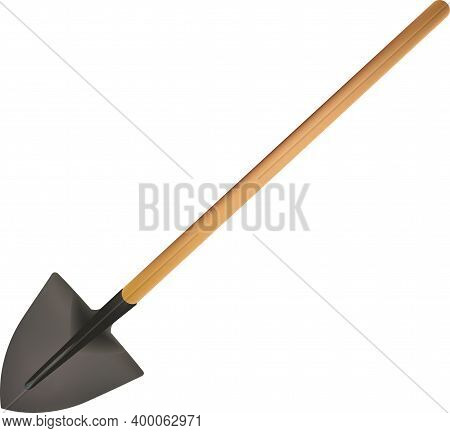 Shovel Mcon Wooden Handle Spade Shovel Mcon Wooden Handle Spade