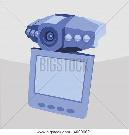 Portable DVR ( digital video recorder)