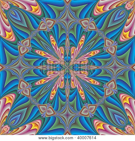Arabesque vector pattern