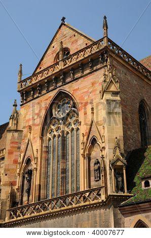 France, Collegiate Church Saint Martin Of Colmar