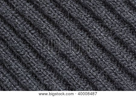Lblack Wool Fabric Texture