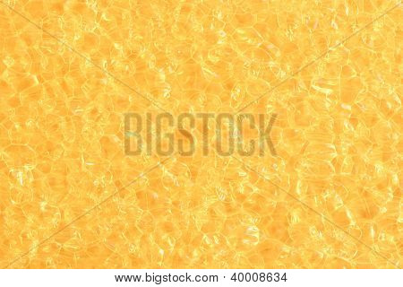 Abstract Golden Bubble Background