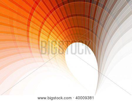 background orange grey