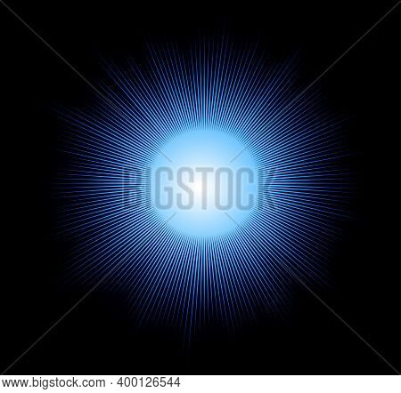 Blue Sparkling Light Explosion Background Blue Sparkling Light Explosion Background Blue Sparkling L
