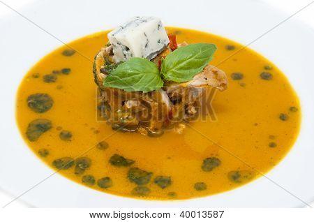 Mexican soup puree