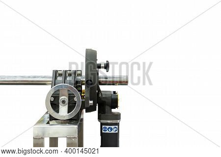 High Precision And Automatic Versatile Continuous Orbital Machine For Metal Tube Or Pipe Cutting Bev