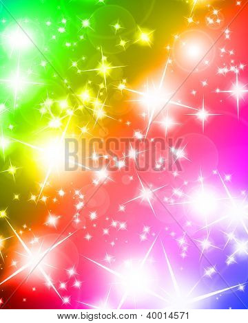 Bright Sparkling Background