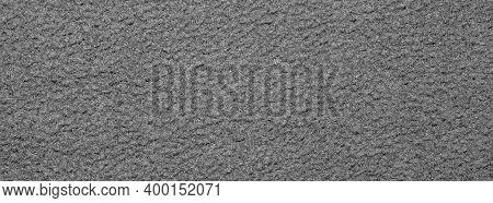 Grey Fleece Fabric.the Texture Of The Fleece Is Gray.the Background Is Gray Fleece.