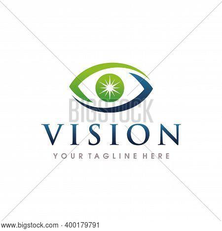 Eye Care Logo. Eye Clinic, Eye Logo Design Vector