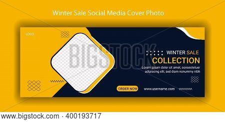 Banner, Cover, Design, Template, Poster, Sale, Business, Social, Modern, Winter, Concept, Web, Creat