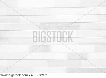Top View Of Wooden Floor For A White Background, Pattern And White Soft Wood Surface As Background,