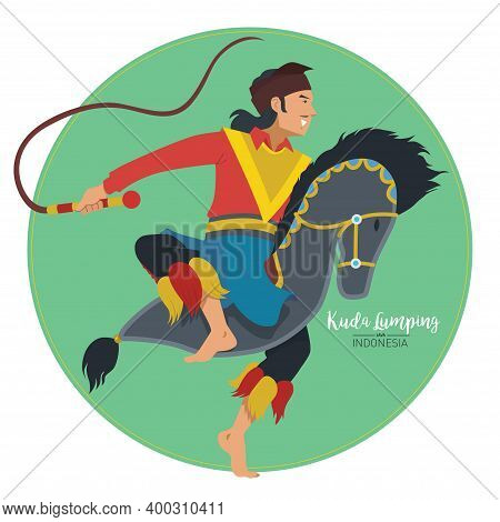 Vector Stock Of Kuda Lumping Or Leathered Horse. The Traditional Dance Form Java, Indonesia.