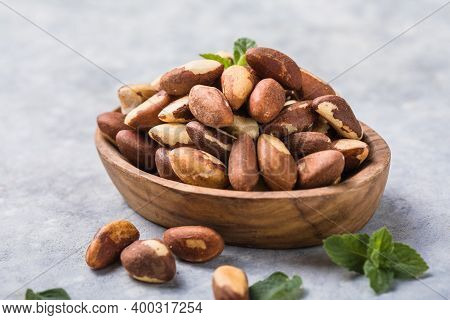 Brazil  Or Amazon Nuts,  Toquei Or Tururi, Very Abundant In Northern Brazil And Bolivia. Brazil Nuts