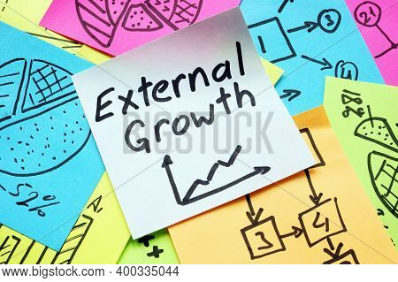 Business External Growth Calculation On The Memo And Graphs.