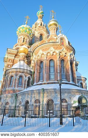Church Of The Savior On The Blood In St. Petersburg