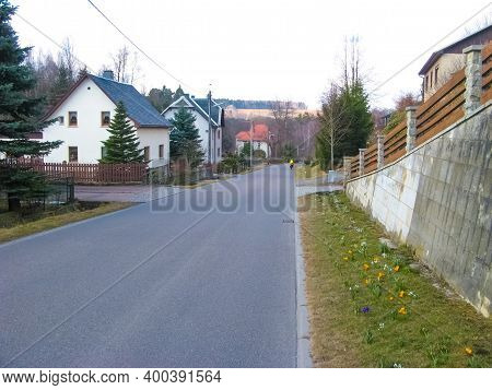 The Landscape In Ralbitz-rosenthal Rosenthal, District Of Bautzen, Saxony, Germany