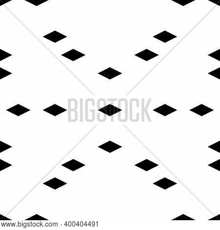 Seamless Ornament. Rhombuses Pattern. Diamonds Backdrop. Lozenges Wallpaper. Ethnic Motif. Geometric