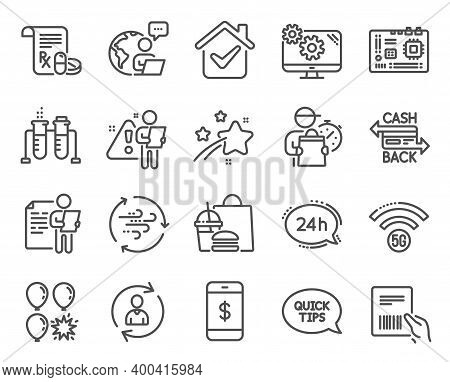 Business Icons Set. Included Icon As Cashback Card, Smartphone Payment, Job Interview Signs. Motherb