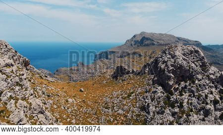 The Knotted Tie - Nudo De Corbata In The Serra De Tramuntana Mountain, Mallorca, Balearic Islands. H