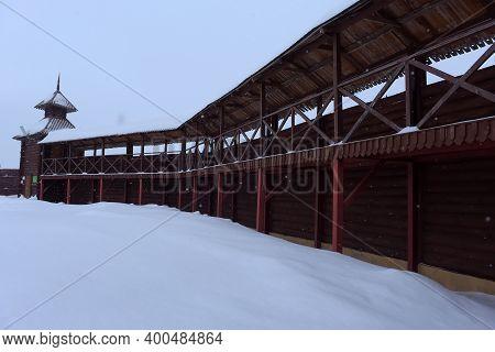 Russia, Vysokogorsky District, Kamaevo Village 24,02,2019