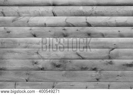 Abstract Ultimate Gray Wood Plank Material Background. White Grey Rustic Block House Panel. Shabby H