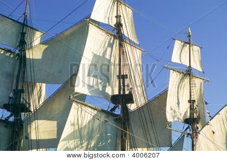 Sails, Mast & Rigging