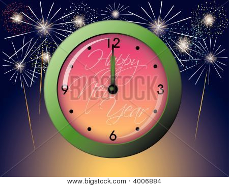 New Years Clock.Ai