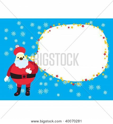 Christmas Santa Clause Card