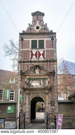 Gouda, Netherlands, November 2018 - Museum  In The City Of Gouda, Netherlands